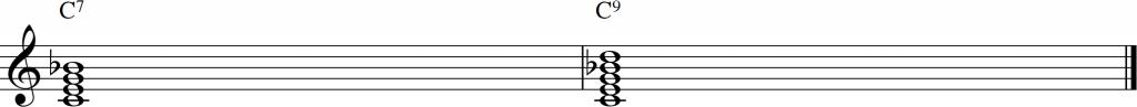 acordes de dominante