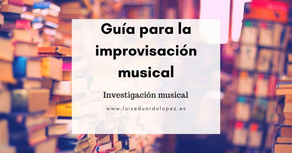 guia para la improvisacion musical