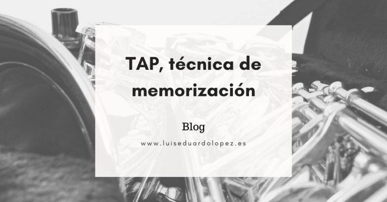 Tap, técnica de memorización