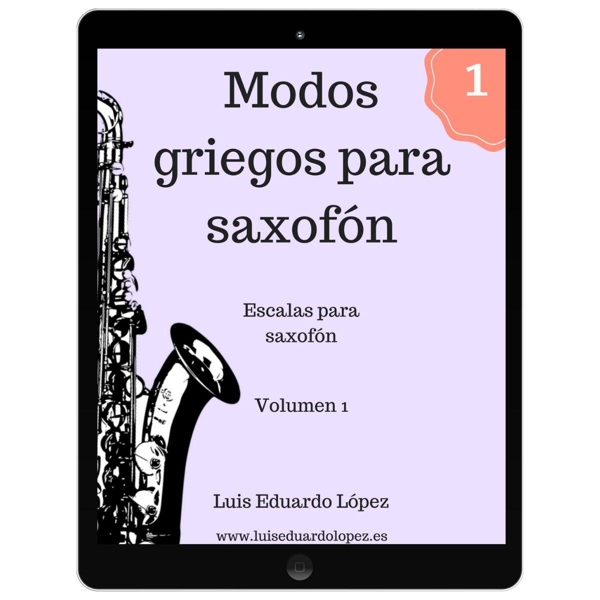 Ebook Modos griegos para saxofón