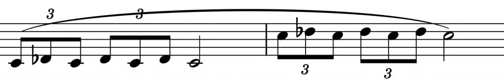 Ejemplo flexibilidad por octavas